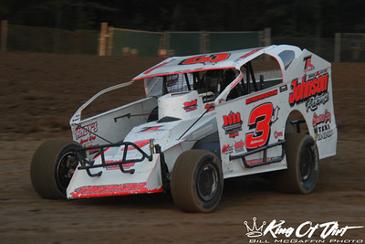 September 15, 2017 - Albany Saratoga - 358 Modifieds - Bill McGaffin