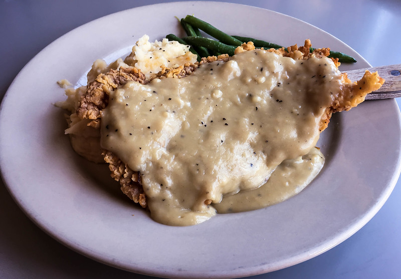 Chicken Fried Steak from the Allgood Cafe, Dallas