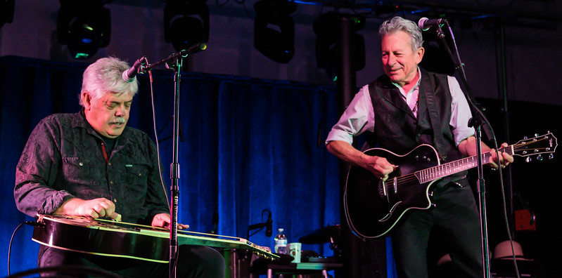 Lloyd Maines and Joe Ely