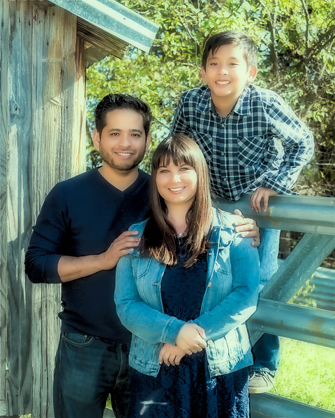 Omar, Jennifer & Devin