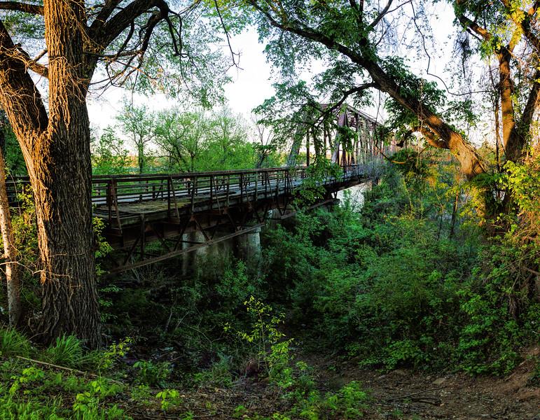 Carpenters Bluff Bridge