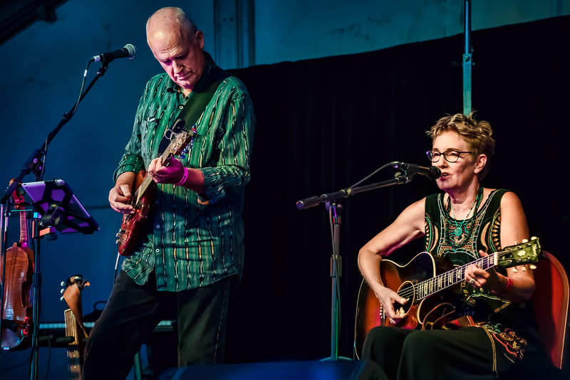 Don Richmond and Eliza Gilkyson
