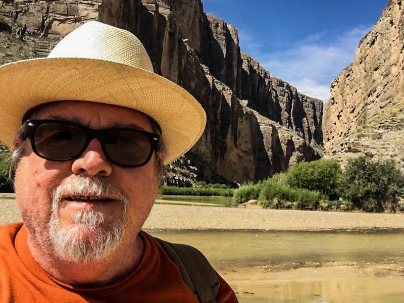 Santa Elena Canyon selfie