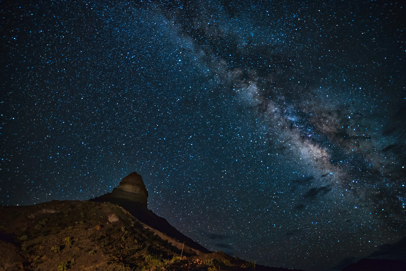 Milky Way over Cerro Castellan