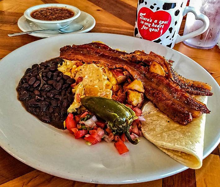 Migas from the All Good Cafe, Deep Ellum (Dallas)