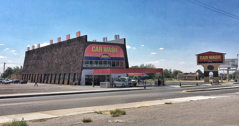 The Albuquerque car wash from Breaking Bad