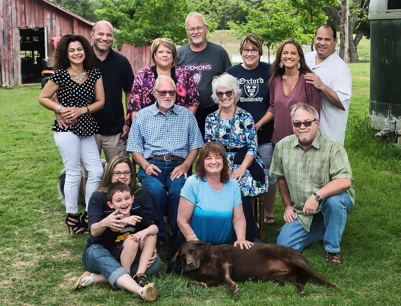 Jim Hooks family Easter 2017