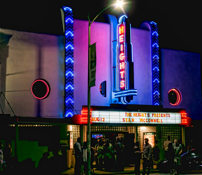 The Heights Theater, Houston Heights