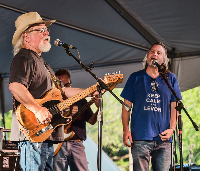 Tommy Alverson and Walt Wilkins