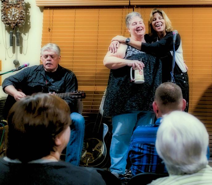 Lloyd Maines, Dana Jones and Terri Hendrix