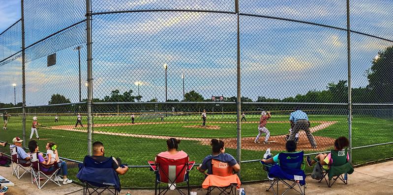 Baseball at Rick Oden Park, Garland