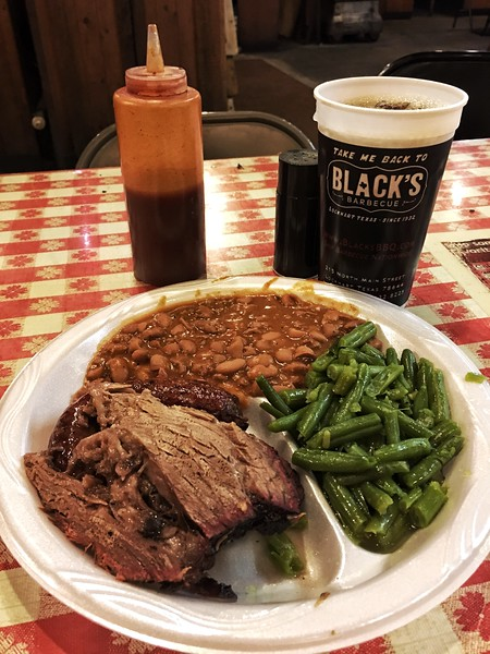 Black's Barbecue in the Mecca of Texas barbecue, Lockhart
