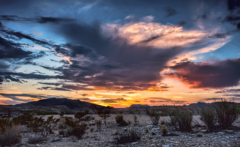 Terlingua Sunset