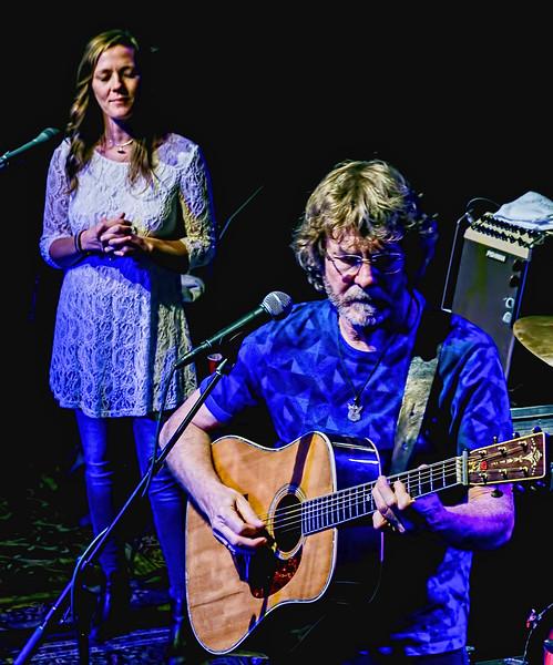 Kelley Mickwee and Sam Bush