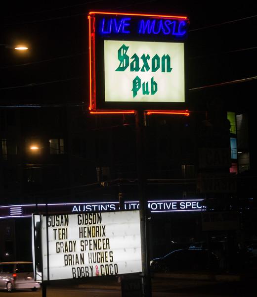 Saxon Pub, Austin TX