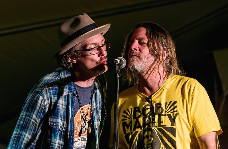 Bill Small and Walt Wilkins