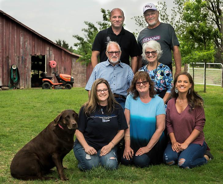 Jim Hooks family - Easter 2017