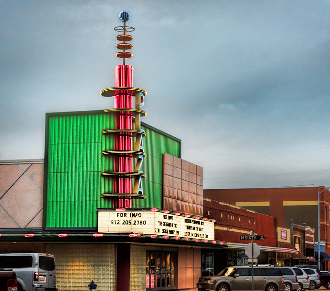 Plaza Theatre, Garland