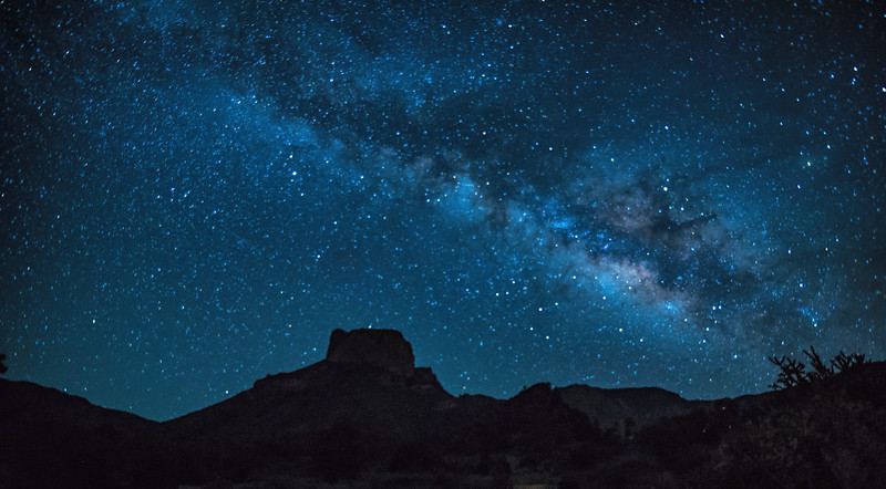 Milky Way over Casa Grande