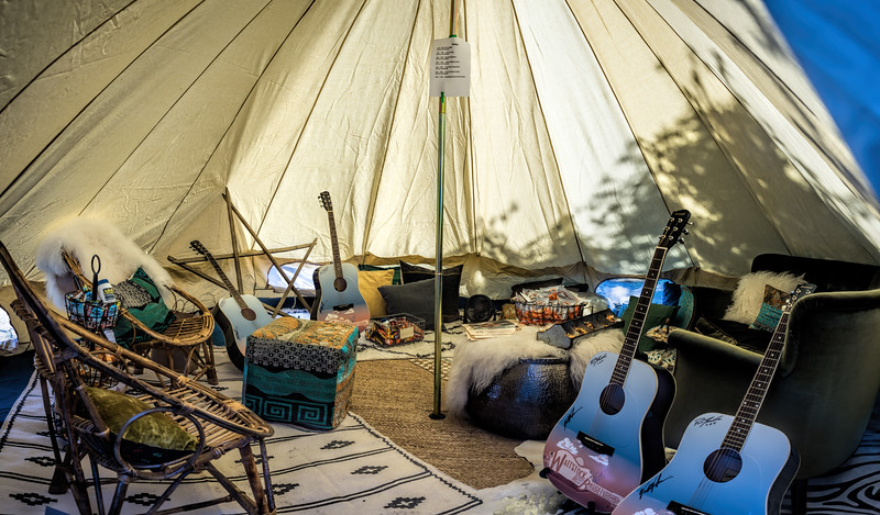 The Artists' Tipi