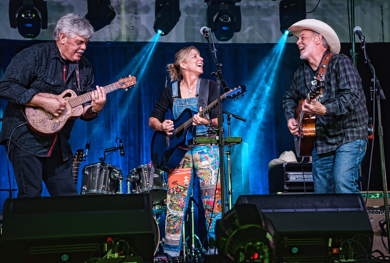 Lloyd Maines, Terri Hendrix and Michael Hearne