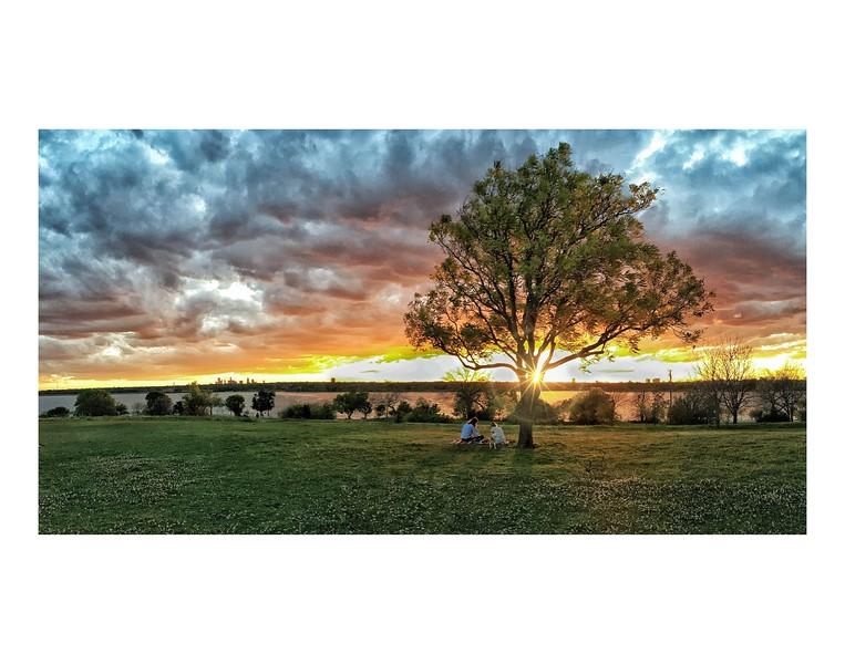 Winfrey Point Sunset 11x14