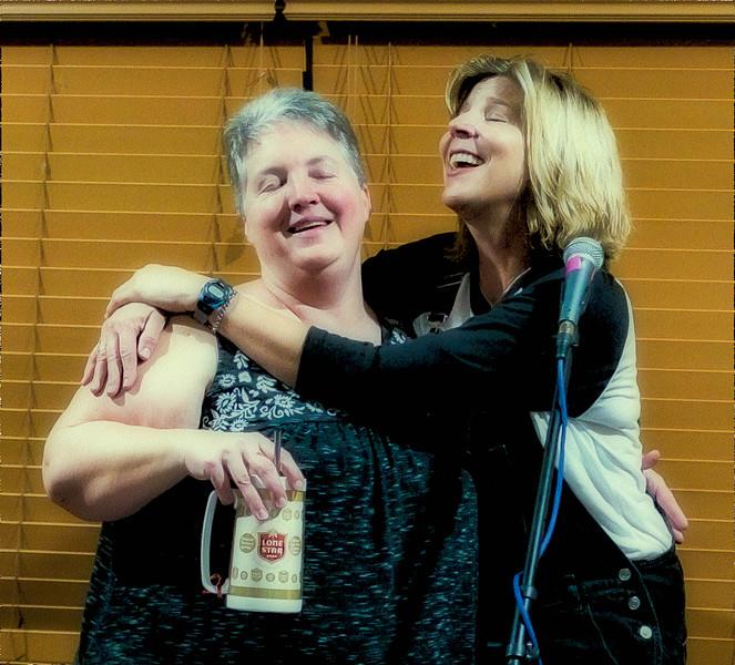 Dana Jones and Terri Hendrix