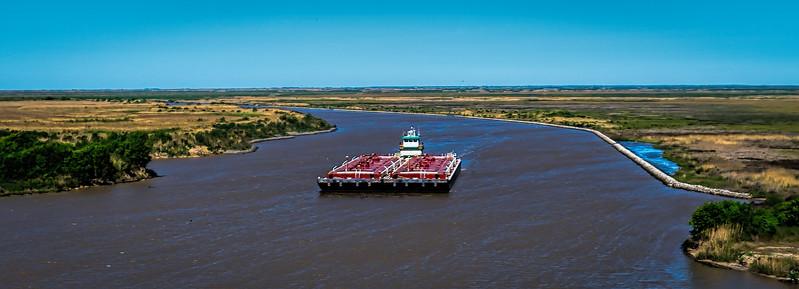 Intracoastal Waterway, High Island, TX
