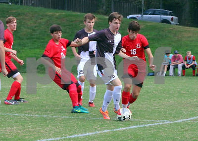 2017 soccer Landon 0 v The Heights 1