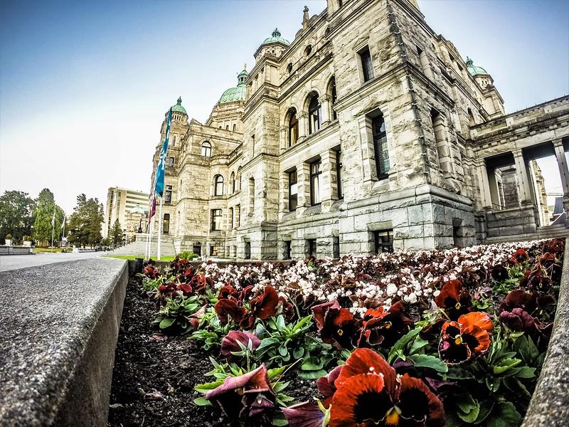 British Columbia Parliament Building Victoria BC Canada