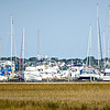boats and yachts parked in the atlantic coast marina