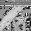 aerial over vehicle parking lot