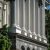 city views around california state capitol building in sacramento