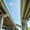 Highway motorway viaduct interchange