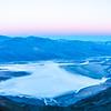morning sunrise over death valley national park