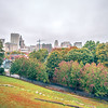 cloudy day and autumn season over providence rhode island