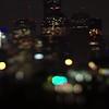 night view of houston texas city skyline