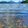 view of lake mcdonald montana in spring