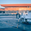 international airport terminal views