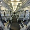 inside a commercial airline scenes