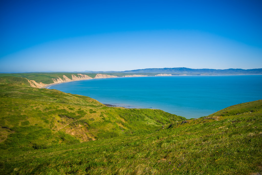 point reyes national seashore landscapes in california