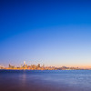 san francisco bay sunset from treasure island
