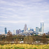 charlotte north carolina city skyline and surroundings