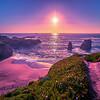 Soberanes point big sur california beautiful sunset