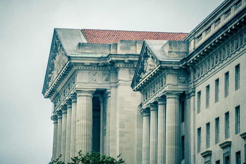 historic buildings and streets in washington dc