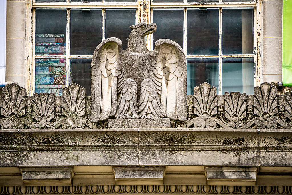 classic historic architectural details on american building