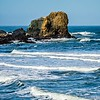 soberanes and cliffs on pacific ocean coast california