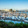 boat marina near new oakland bay bridge leading to oakland california