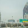 cleveland ohion city skyline buildings daytime