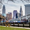 cleveland ohio cityscape views and surroundings